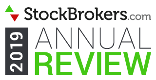 StockBrokers.com 2019 Award